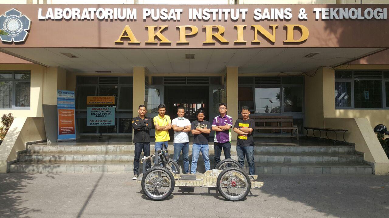 Karya Ilmiah Mahasiswa Teknik Mesin IST AKPRIND Mendapat Best Paper Award di Seminar Internasional