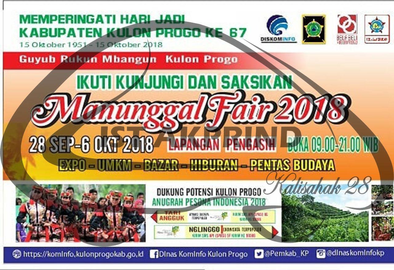 Ada apa di Manunggal Fair 2018?
